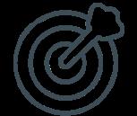 digital marketing bullseye icon