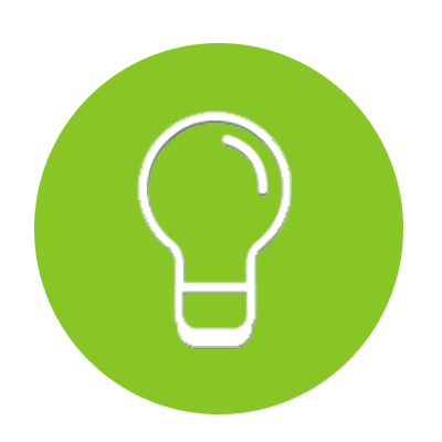 mobile strategy lightbulb icon